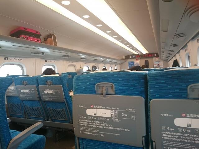 新幹線自由席の格安な利用法※自由席料金はどんな時にお得?